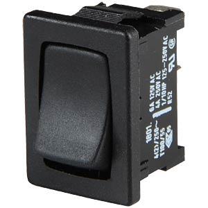 Wipptaster,1-pol, Schließer, schwarz MARQUARDT 01801.1202-01