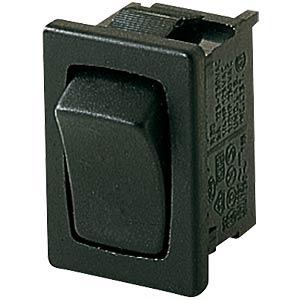 Wippschalter, 1-pol, AUS, schwarz MARQUARDT 01801.6102-01