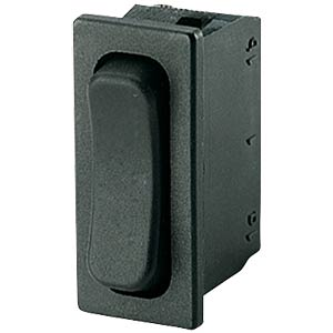 Rocker switch, 1-pin, UM, black MARQUARDT 01838.1602-01