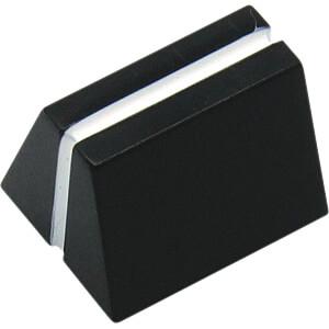 Schieberegler für Aufnahme 4 x 1,2 mm, 11,3 x 10,2 x 12 mm RND COMPONENTS RND 210-00308