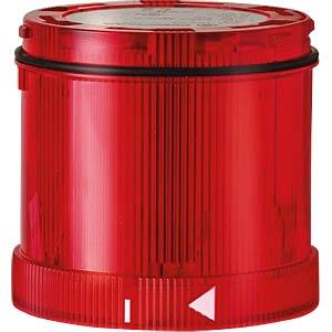 Signalelement, Xenonblitz, rot, 24 V DC WERMA SIGNALTECHNIK 643 100 55