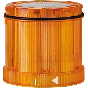 LED-Signalelement, Blink, gelb, 24 V AC/DC WERMA SIGNALTECHNIK 644 310 75