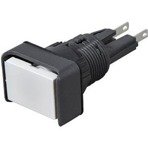 Operator, beleuchtbar, tastend, rechteckig APEM A0101Y