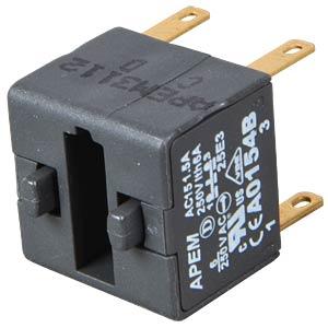 Schalterblock für A01-ES (NOT-AUS) 2-polig APEM A0154B