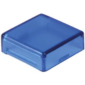 Cover for operator, square, blue APEM A0162F