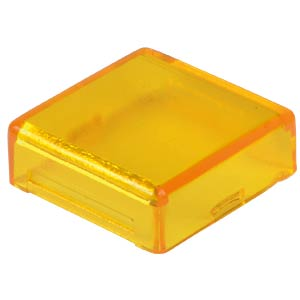 Cover for operator, square, yellow APEM A0162D