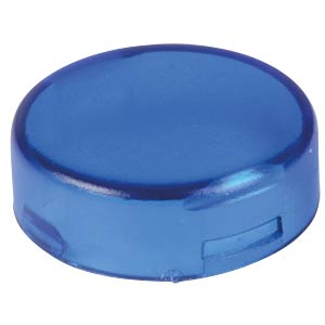 Cover for operator, round, blue APEM A0163F