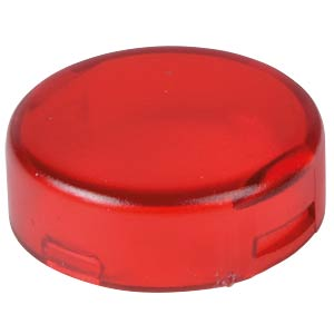 Cover for operator, round, red APEM A0163B