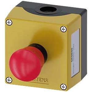 Pilzdrucktaster, 1 NC, rot SIEMENS 3SU1801-0NA00-2AA2