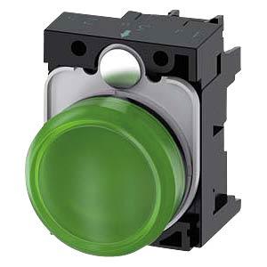 Leuchtmelder, 24 V AC/DC, grün SIEMENS 3SU1102-6AA40-1AA0