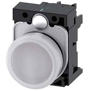 Leuchtmelder, 24 V AC/DC, weiß SIEMENS 3SU1102-6AA60-1AA0