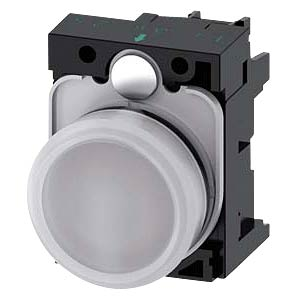 Leuchtmelder, 230 V AC, weiß SIEMENS 3SU1106-6AA60-1AA0