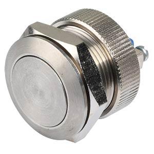 AV-Taster Ø 19 mm - Stahl rostfrei, mit Rändelmutter APEM AV091003C940N