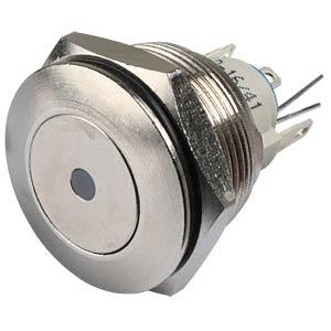 AV-Schalter, IP65, Ø 25/22 mm, 1x Ein - Ein, LED rt APEM AV031L6EA200K