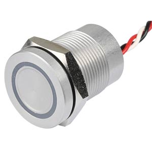 Kapazitiver Schalter - Ø 19 mm, 12V, LED gn/rt APEM CPB2210000NGSC