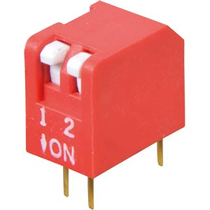 Piano dip switch, 2-pin FREI