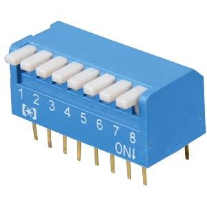 Piano-Dip-Schalter, 8-polig FREI