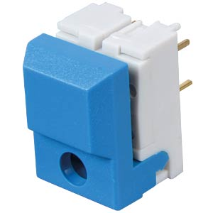 Push button, switching voltage: 24 V, for LED, blue ITT SCHADOW
