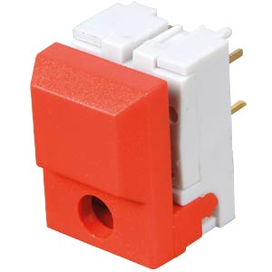 Push button, switching voltage: 24 V, for LED, red ITT SCHADOW