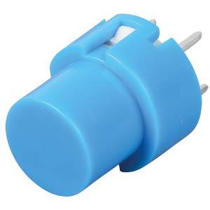 Push button, switching voltage: 100V, round, blue ITT SCHADOW