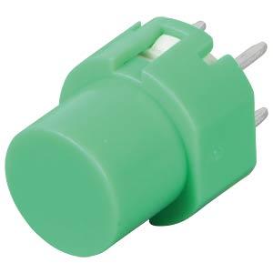 Eingabetaster, Schaltspannung: 100V, rund, grün ITT SCHADOW
