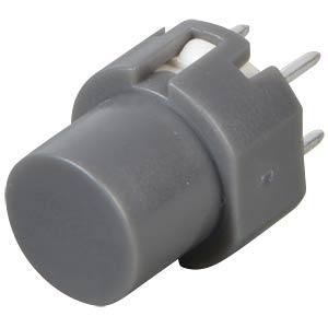 Push button, switching voltage: 100V, round, grey ITT SCHADOW