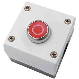 Drucktaster, rot, 1 NO und 1 NC EATON 216521