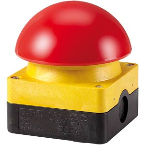 Foot and palm button, emergency stop, 1 NO and 1 NC EATON 229748