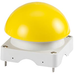 Upper enclosure with mushroom button, yellow EATON 229754