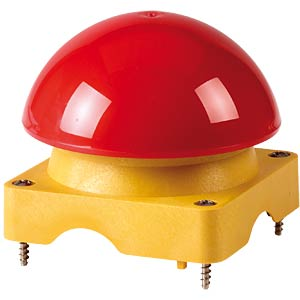 Upper enclosure with mushroom button, red EATON 229755