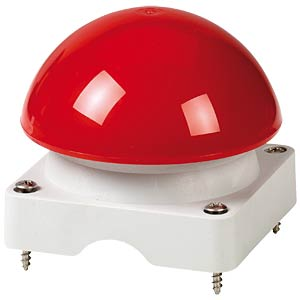 Upper enclosure with mushroom button, red EATON 71810