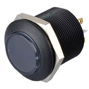 Taster mit zwei Symbolen - Ø 24 mm, LED gn / rt APEM FDAP3D1482F13