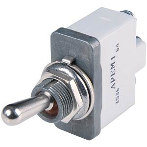 Lever switch 3500 series, 1x ON - OFF APEM 3531-021N000