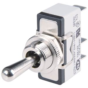 Lever switch to 10 A, 1x ON - OFF APEM 631H/2