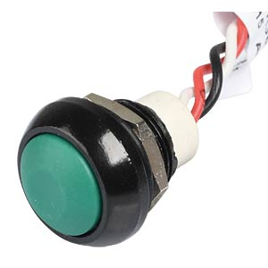 Contact-free IHS pushbutton - 12 mm, NO, green APEM IHSR36F3