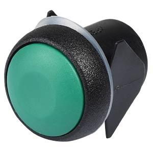 Druckschalter 16 mm - Snap-in, Löt, grün, IP54 APEM IQR1S432
