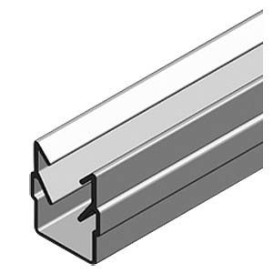 Framing profile 40+ 50 cm, silver FLEXLINK J650042970050