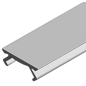 Groove cover profile 50 cm 40+, silver FLEXLINK J650077970050