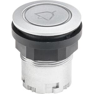 Pushbutton - RONDEX-JUWEL, arrow, silver SCHLEGEL JRMTLRL_0001