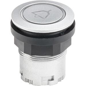 Pushbutton - RONDEX-JUWEL, RESET, silver SCHLEGEL JRMTLRL_0226