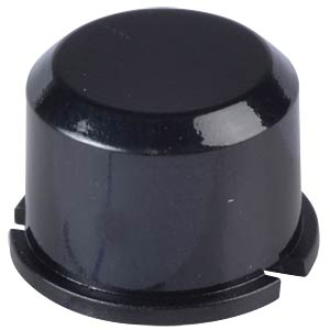 Round black cap for button 3F... MEC SWITCHES 1D09