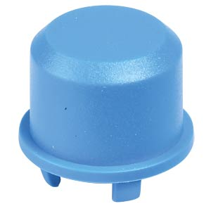 1DS cap for Multimec 5 - Ø 9.6 mm, blue APEM 1DS00
