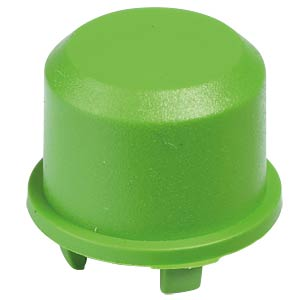 1DS cap for Multimec 5, Ø 9.6 mm, green APEM 1DS02