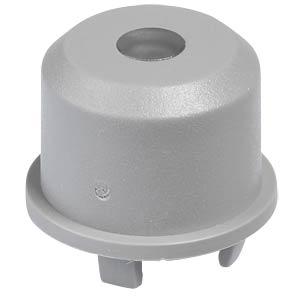Kappe Multimec 5, Ø9,6mm, gr, Linse trans. APEM 1ES031