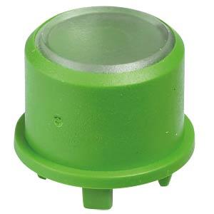 Kappe Multimec 5, Ø9,6mm, gn, Oberfläche trans. APEM 1FS021