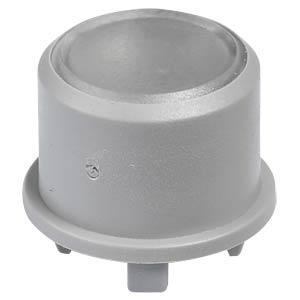 Kappe 1FS für Multimec 5 - Ø 9,6 mm, grau, Oberfläche transparen APEM 1FS031