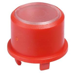 Kappe 1FS für Multimec 5 - Ø 9,6 mm, rot, Oberfläche transparent APEM 1FS081
