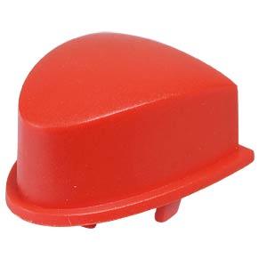 Kappe 1VS für Multimec 5 - 10,6 x 13,25 mm, oval, rot APEM 1VS08