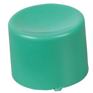 Cap for series 8000 and 18000, green APEM U483
