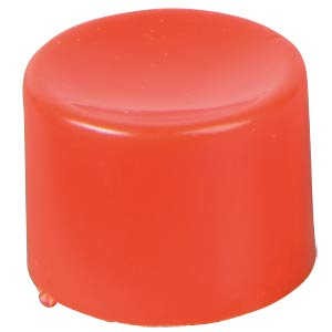 Cap for series 8000 and 18000, red APEM U486